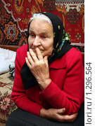 Купить «Пожилая женщина», фото № 1296564, снято 6 октября 2009 г. (c) Николай Комаровский / Фотобанк Лори