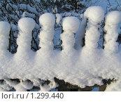Купить «Снежные Гномы», фото № 1299440, снято 13 декабря 2009 г. (c) Андрей Давиденко / Фотобанк Лори