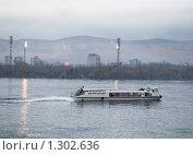 Купить «Красноярск. Река Енисей», фото № 1302636, снято 5 октября 2009 г. (c) Andrey M / Фотобанк Лори