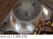 Купить «Внутреннее убранство храма в Свято-Екатерининском монастыре», эксклюзивное фото № 1303576, снято 18 декабря 2009 г. (c) Яна Королёва / Фотобанк Лори