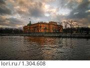 Купить «Михайловский замок. Санкт-Петербург», эксклюзивное фото № 1304608, снято 22 ноября 2009 г. (c) Александр Алексеев / Фотобанк Лори