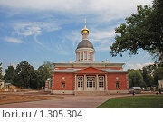 Купить «Церковь Рождества Христова в Рогожской слободе в Москве», эксклюзивное фото № 1305304, снято 13 августа 2009 г. (c) lana1501 / Фотобанк Лори