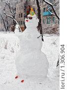 Купить «Снежная баба», фото № 1306904, снято 1 марта 2009 г. (c) Ivan I. Karpovich / Фотобанк Лори