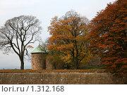 Крепость Акерсхус в Норвегии (2007 год). Стоковое фото, фотограф Юля Волкова / Фотобанк Лори