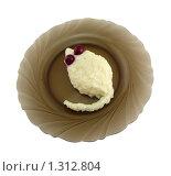 Манная каша с вишней в форме мышки 4. Стоковое фото, фотограф Дамир Фахретдинов / Фотобанк Лори