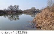 Купить «Весенний пейзаж, ерик Дона, Волгоградская область», фото № 1312892, снято 27 апреля 2009 г. (c) Анна Маркова / Фотобанк Лори