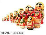 Купить «Матрёшки русская, армянская и молдавская», фото № 1315636, снято 31 октября 2009 г. (c) Сергей Плахотин / Фотобанк Лори