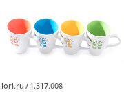Купить «Набор чашек для кофе или чая», фото № 1317008, снято 24 декабря 2009 г. (c) Иванова Виктория / Фотобанк Лори