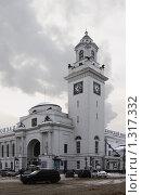 Купить «Киевский вокзал в Москве», фото № 1317332, снято 22 декабря 2009 г. (c) Андрей Ерофеев / Фотобанк Лори