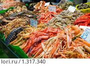 Купить «Рыбная лавка», фото № 1317340, снято 8 мая 2008 г. (c) Федор Кондратенко / Фотобанк Лори