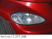 Купить «Фара иностранного автомобиля», эксклюзивное фото № 1317348, снято 27 июля 2009 г. (c) lana1501 / Фотобанк Лори