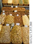 Купить «Разнообразие орехов», фото № 1317360, снято 8 мая 2008 г. (c) Федор Кондратенко / Фотобанк Лори