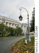 Купить «Елагин дворец», фото № 1320044, снято 29 октября 2009 г. (c) Александр Секретарев / Фотобанк Лори