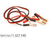 Купить «Провода для подсоединения аккумулятора», фото № 1327140, снято 22 февраля 2009 г. (c) Elnur / Фотобанк Лори