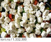 Купить «Греческий салат», фото № 1332300, снято 24 августа 2009 г. (c) Анна Лурье / Фотобанк Лори