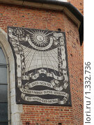 Купить «Солнечные часы - Краков Польша», фото № 1332736, снято 26 сентября 2009 г. (c) Александр Гончаров / Фотобанк Лори