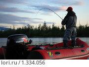 На рыбалке (2009 год). Редакционное фото, фотограф Артем Коржуков / Фотобанк Лори