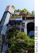 Купить «Фасад дома Хундертвассера. Австрия. Вена.», фото № 1335308, снято 25 мая 2009 г. (c) Алексей Зарубин / Фотобанк Лори