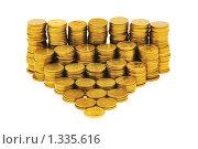 Купить «Стопки монет», фото № 1335616, снято 22 февраля 2009 г. (c) Elnur / Фотобанк Лори