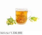 Купить «Липовый чай», фото № 1336900, снято 2 июля 2009 г. (c) Елена Завитаева / Фотобанк Лори