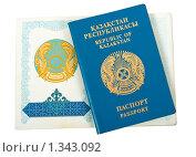 Купить «Казахский паспорт», фото № 1343092, снято 4 января 2010 г. (c) FotograFF / Фотобанк Лори