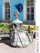 """Купить «Статуя """"Люба"""". Омск», фото № 1343184, снято 29 августа 2009 г. (c) Валерий Лифонтов / Фотобанк Лори"""