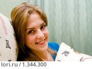 Купить «Портрет молодой девушки», фото № 1344300, снято 5 ноября 2009 г. (c) Анна Лурье / Фотобанк Лори