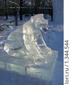Купить «Ледяные скульптуры в Снежном городке. Парк Сокольники, Москва», эксклюзивное фото № 1344544, снято 4 января 2010 г. (c) lana1501 / Фотобанк Лори