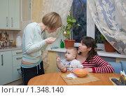 Купить «Конфликт на кухне», фото № 1348140, снято 5 января 2010 г. (c) Кристина Викулова / Фотобанк Лори