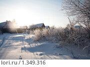 Купить «Зимний пейзаж», фото № 1349316, снято 3 января 2010 г. (c) Алексей Калашников / Фотобанк Лори