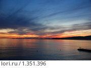 Закат. Стоковое фото, фотограф АЛЕКСЕЙ   ЧЕРНЫШЕВ / Фотобанк Лори