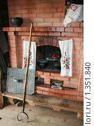 Купить «Русская  печь», фото № 1351840, снято 6 июня 2009 г. (c) Марина Шатерова / Фотобанк Лори