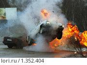 Купить «Авария на шоссе», фото № 1352404, снято 15 февраля 2005 г. (c) Татьяна Белова / Фотобанк Лори