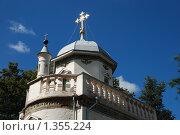 Купить «Истра. Ново-Иерусалимский монастырь. Скит патриарха Никона», эксклюзивное фото № 1355224, снято 10 августа 2009 г. (c) lana1501 / Фотобанк Лори