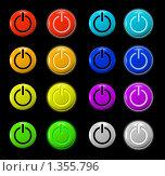 Кнопка включения. Стоковая иллюстрация, иллюстратор Роман Зацаринин / Фотобанк Лори
