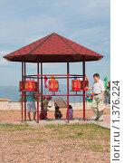 Купить «Молитвенные барабаны на территории Дацана. Улан-Удэ. Бурятия», эксклюзивное фото № 1376224, снято 25 июля 2009 г. (c) Анна Зеленская / Фотобанк Лори