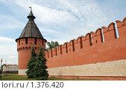 Купить «Тула. Тульский кремль», эксклюзивное фото № 1376420, снято 30 июля 2009 г. (c) lana1501 / Фотобанк Лори