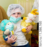 Ребенок играет в доктора. Стоковое фото, фотограф Ирина Апарина / Фотобанк Лори