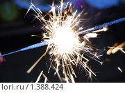 Бенгальские огни. Стоковое фото, фотограф Крылова Анастасия / Фотобанк Лори