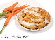 Купить «Болгарский пирог с морковкой», фото № 1392152, снято 18 августа 2009 г. (c) Елисей Воврженчик / Фотобанк Лори
