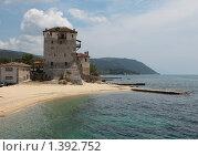 Купить «Уранополис. Греция.», фото № 1392752, снято 10 июля 2009 г. (c) Игорь Семенов / Фотобанк Лори