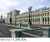 Вокзал Новосибирск-Главный (2006 год). Стоковое фото, фотограф Энди / Фотобанк Лори
