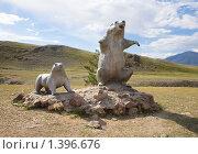 Купить «Скульптурная композиция грызунов», фото № 1396676, снято 10 августа 2009 г. (c) hunta / Фотобанк Лори