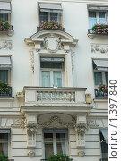 Купить «Балкон номера в отеле Вестминстер - Париж», фото № 1397840, снято 29 сентября 2008 г. (c) Александр Гончаров / Фотобанк Лори