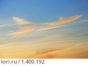 Купить «Небо на закате», фото № 1400192, снято 25 апреля 2008 г. (c) Щеголева Ольга / Фотобанк Лори