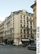Купить «Пешеходный переход на Вандомской площади. Париж», фото № 1400848, снято 29 сентября 2008 г. (c) Александр Гончаров / Фотобанк Лори