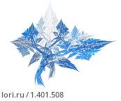 Купить «Абстракция. Морозный узор . Светлый фон», иллюстрация № 1401508 (c) Vitas / Фотобанк Лори