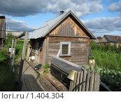 Банька в деревне. Стоковое фото, фотограф Евгений 333 / Фотобанк Лори