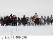 Купить «Большая псовая охота», фото № 1409096, снято 16 января 2010 г. (c) Яременко Екатерина / Фотобанк Лори