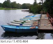 """Купить «Лодочная станция в парке """"Кузьминки""""», эксклюзивное фото № 1410464, снято 13 сентября 2008 г. (c) lana1501 / Фотобанк Лори"""